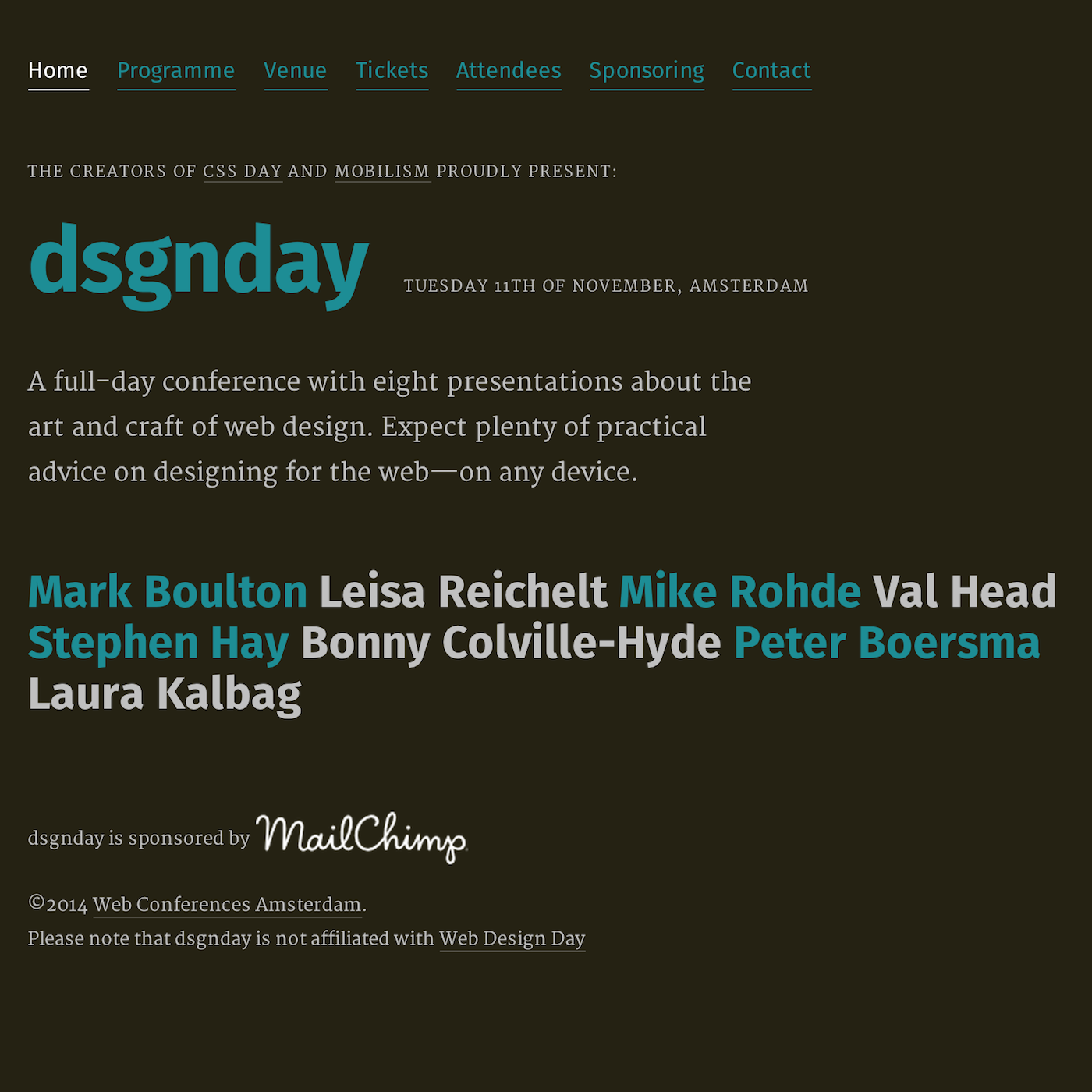 dsgnday sessions